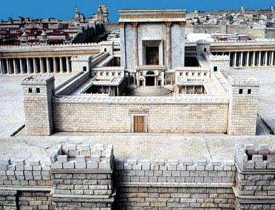 A zsidók által felépíteni tervezett templom