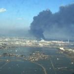 A fukusimai erőmű felől érkező radioaktív sugárzás terjedése