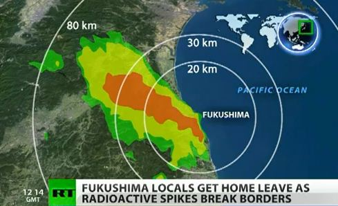 Fukushima danger zone