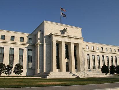 A Federal Reserve épülete Washingtonban