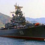 Orosz hadihajók szíriai vizeken a NATO támadás megakadályozására