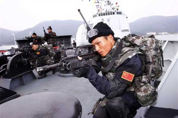 China's Hu urges navy to prepare for combat