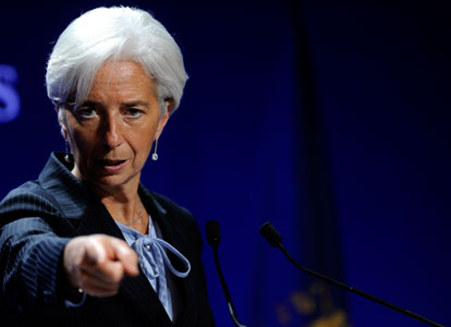 IMF Says Europe Needs External Assistance; Russia to the Rescue