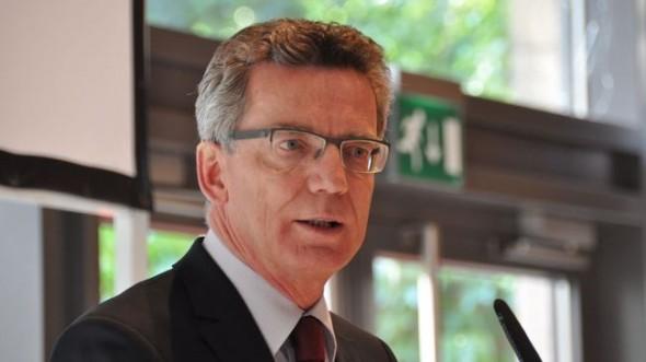 Thomas de Maiziere, német védelmi miniszter