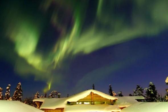 A fotót készítette: Timo Newton-Syms, Ruka, Finnország, 2012. március 7.