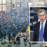 Nigel Farage szerint tömeges tiltakozó megmozdulások várnak Európára