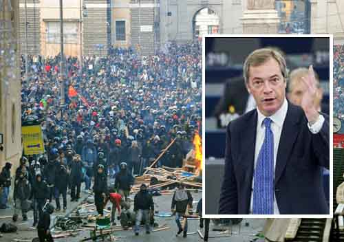 Farage: We Face The Prospect Of Mass Civil Unrest In Europe