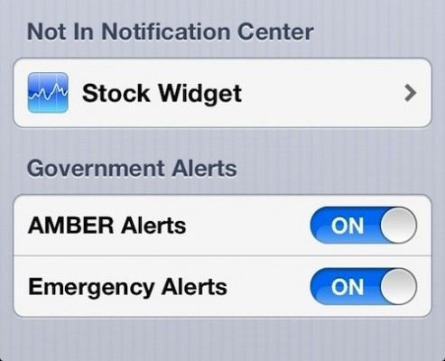 Apple's iOS 6 Includes 'Government Alerts'