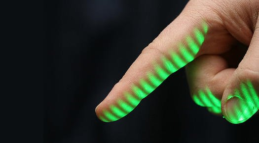 A Fingerprint Scanner That Can Capture Prints From 20 Feet Away