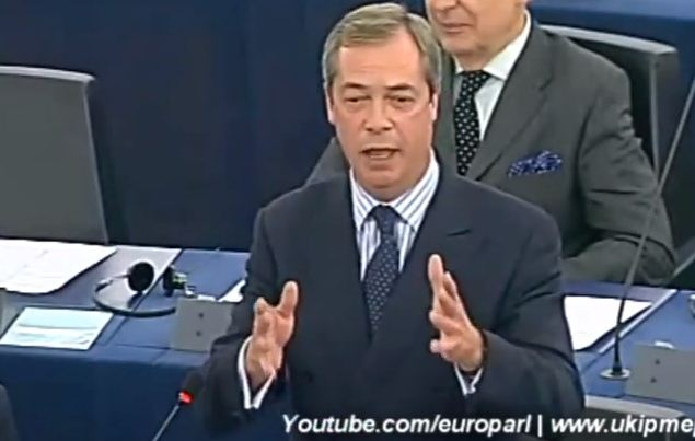 Nigel Farage On The Total Subjugation Of Europe