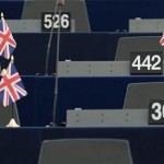 The seats of Britain&#039;s members of the European Parliament