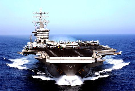 US Aircraft Carrier Arrives Off Syrian Coast