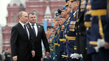 Russia Building Toward Military Dominance