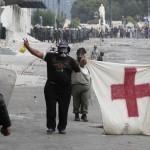 A készpénzhiánnyal küzdő Vöröskereszt erőszakos tüntetéseket jósol Európában