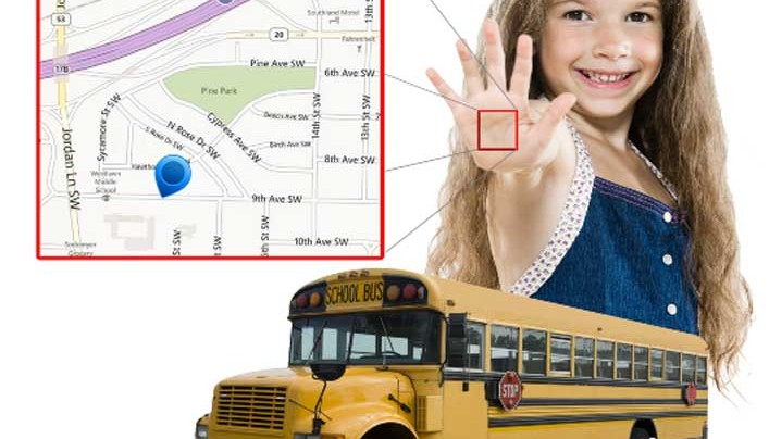 Kidtrack biometric system keeps track of kids on school buses