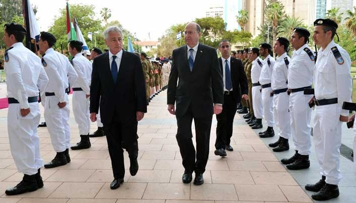 Chuck Hagel Green Lights Israeli Attacks On Syria and Iran