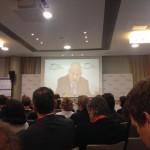Soros György a Globális Gazdasági Szimpóziumon beszél