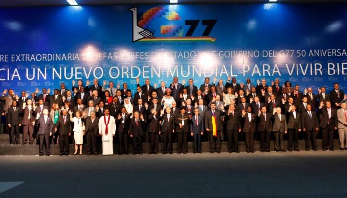 A G77-ek és Kína Új Világrendet követelnek
