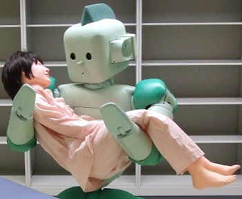 Gondoskodó robotok?