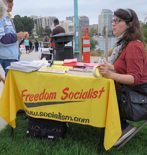 A Freedom Socialist egy kevésbé ismert szervezet, mindenestre magukénak tudhatják a socialism.com domain nevet. A kommunizmus radikális, feminista változatát hirdetik ?Marx, Engels, lenin és Trockij élő hagyományát követve.?