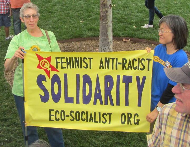 A pálmát valószínűleg az Öko-szocialista mozgalom viszi, ami a plakát szerint egy feminista, rasszizmus ellenes, ökológiai szocialista mozgalom