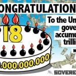 """""""Gratulálunk az Egyesült Államoknak a 18. ezermilliárdhoz!"""""""