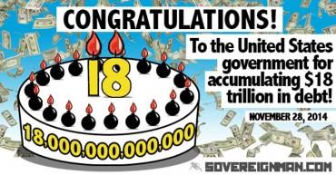 ?Gratulálunk az Egyesült Államoknak a 18. ezermilliárdhoz!?
