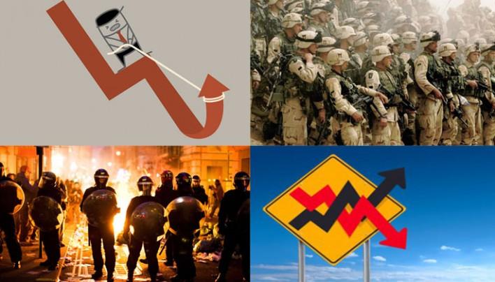 """Piaci összeomlás fenyeget: """"Lázongások, háború, recesszió"""""""