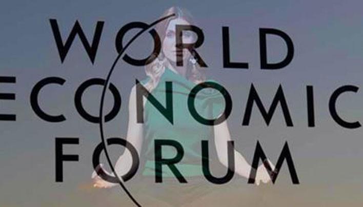 Davos World Economic Forum Features New Age Religion Meditation Classes