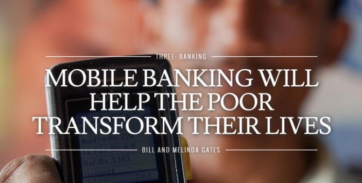A mobil bankolás átformálja a szegények életét – Bill és Melinda Gates Alapítvány