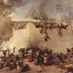 Újjáépítették a zsidó templom oltárát
