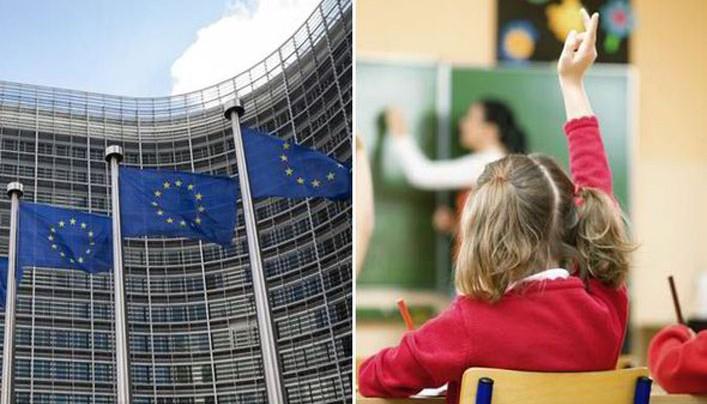 A történelemről festett hamis képpel erőltetik az uniós integráció ideológiáját az iskolásokra