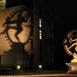 Shiva szobra a CERN előtt