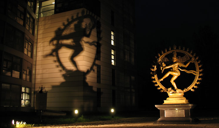 Statue of Shiva at CERN