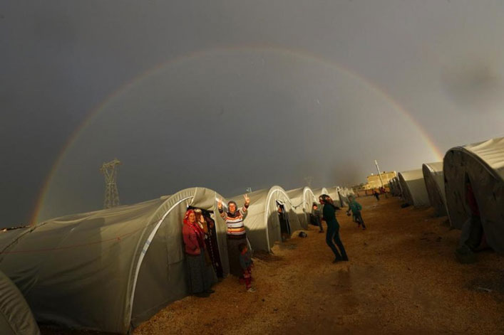 kurdish-refugee-camp