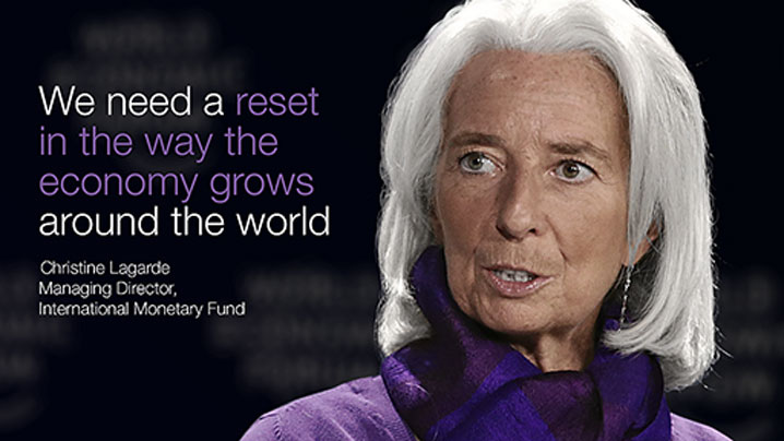 Christine Lagarde Global Currency Reset Imf Davos2017