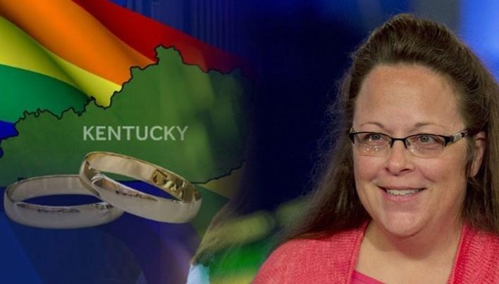 Kim Davis Wins against ACLU in Gay Marriage Ruling